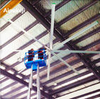China 7.3m 24ft HVLS Ceiling Fans High Volume Low Speed With Aluminum Material factory