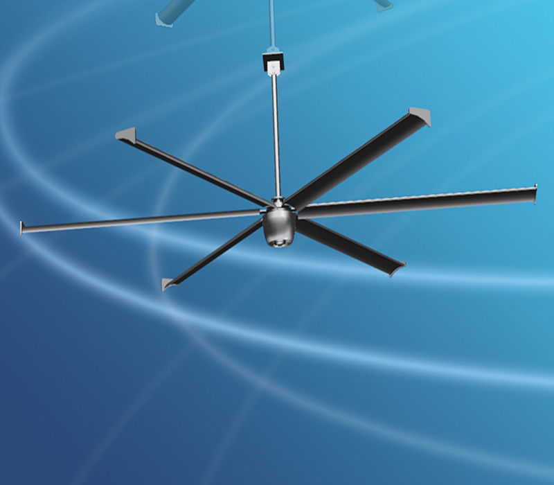 Big Wind Industrial Size Ceiling Fans 16ft Large Diameter For Warehouse