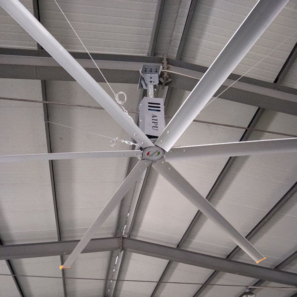 Hvls Large Room Ceiling Fan 11ft Warehouse Air Cooling Ceiling Fan