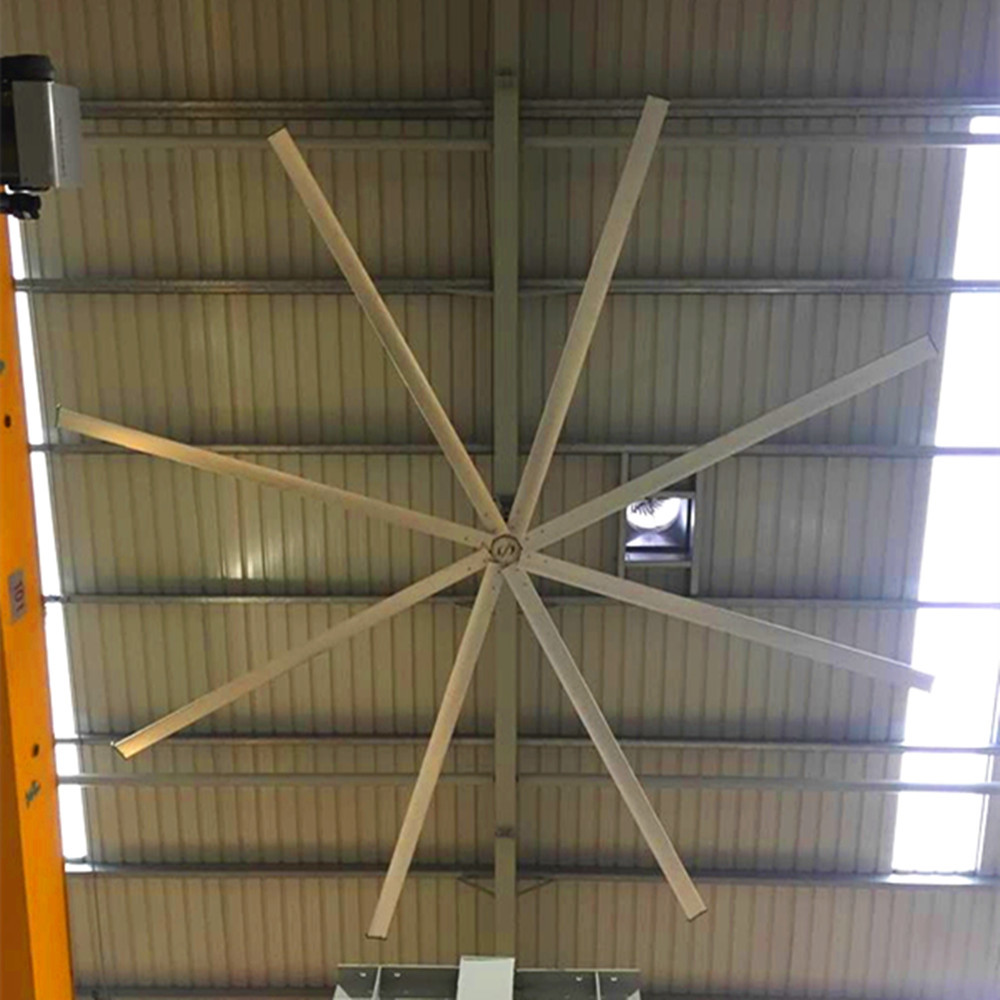 18ft High Volume Ceiling Fans / Industrial Giant Low Speed Ceiling Fan