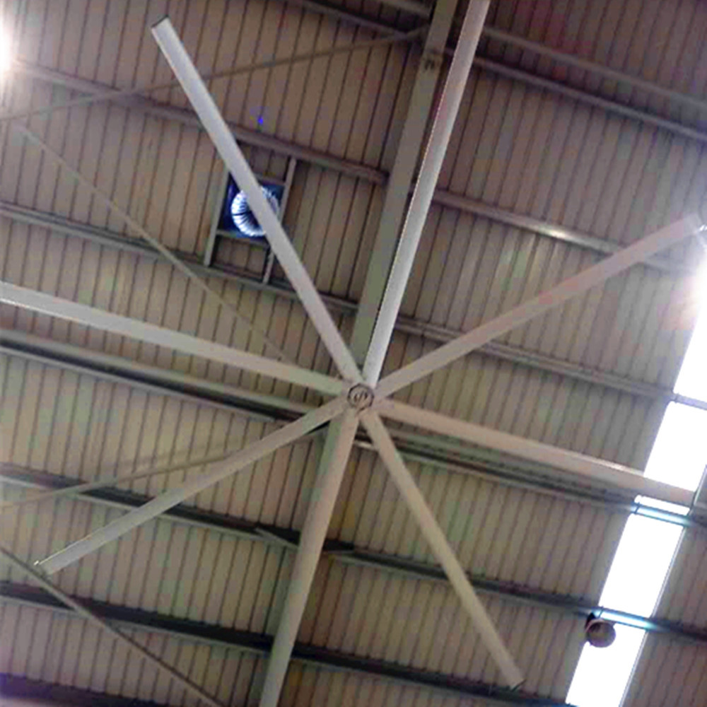 AWF49 Large Outdoor Ceiling Fans , High Volume Low Speed Industrial Fans