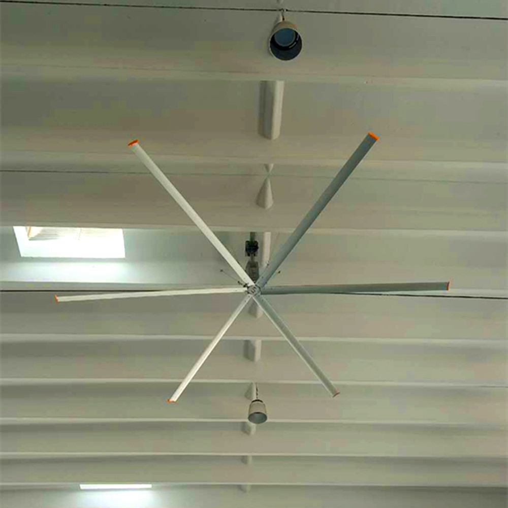 AWF-38 Large Commercial Ceiling Fans 3.8m Diameter For Warehouses / Farms