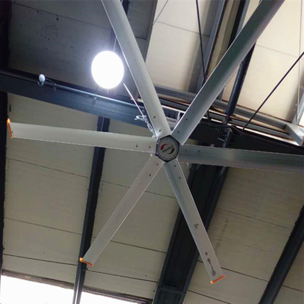 HVLS Commercial Ceiling Fans AWF-28 2.8m Diameter For Logistics Center