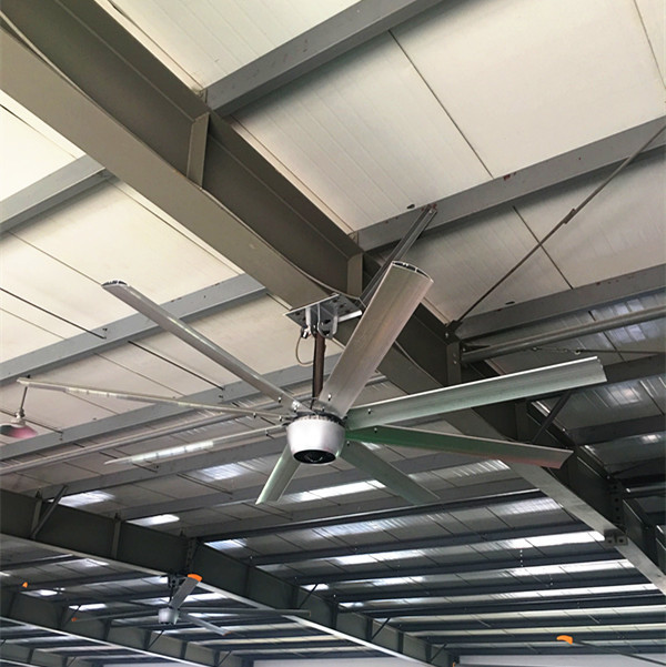 220V 2.4m High Speed Ceiling Fan , Aipukeji Large Warehouse Ceiling Fans