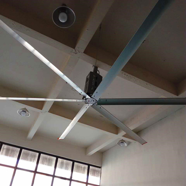Good Performance HVLS Ceiling Fan , AWF38 High Volume Low Velocity Ceiling Fans