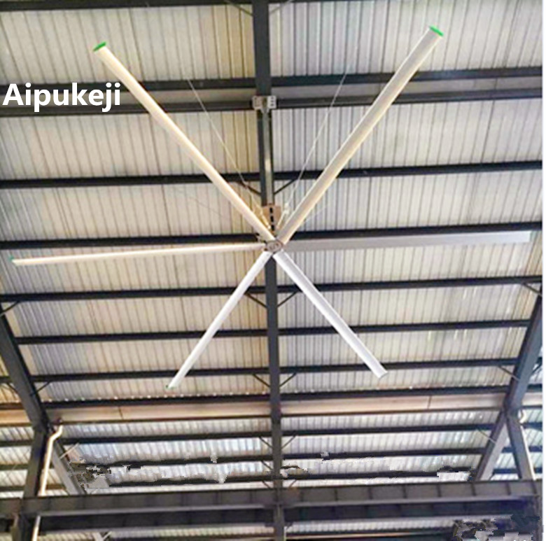 2.2KW High Volume Ceiling Fans AWF73 Energy Saving 10 Blade Ceiling Fan