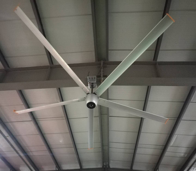 15ft Big Industrial Ceiling Fans , Quiet HVLS Ceiling Fan For School / Gym