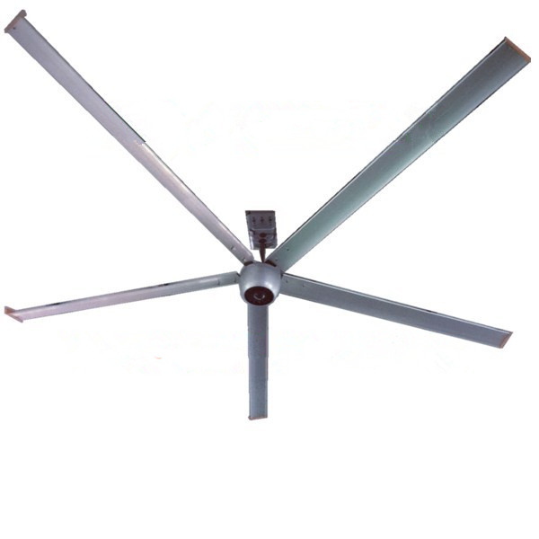 Aluminum Long Blade Ceiling Fan , 10 FT 3000mm Brushless DC Ceiling Fan