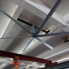 China 26ft 8m HVLS Large Diameter Ceiling Fans , Electric Large Warehouse Ceiling Fans factory