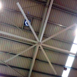 China Big Ass Commercial Ceiling Fans High Volume Low Speed 12 Foot Ceiling Fan With 8 Blades factory