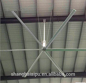 Large Diameter 12 FT Ceiling Fan , Big Air Industrial Ceiling Fans For Warehouses