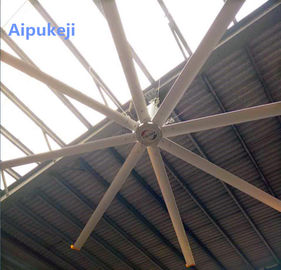 China High Volume Large Garage Ceiling Fan , 24 Foot Power Saving Ceiling Fans factory