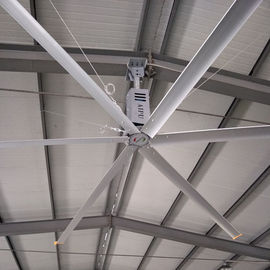 China Aipukeji HVLS High Volume Ceiling Fans 20 Foot HVLS Industrial Big Size Ceiling Fan factory